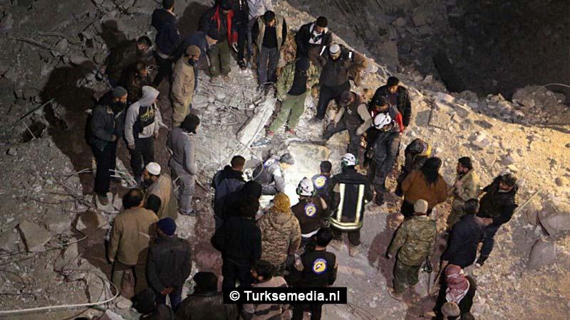 VS achter bloedbad Syrische moskee Aleppo 'Megablunder'