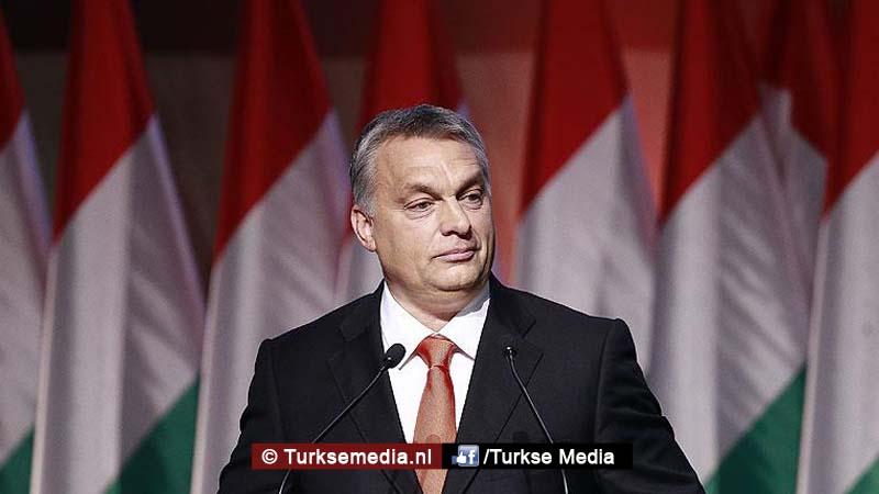 Hongarije steunt Erdogan 'Anders zitten we straks allemaal in de problemen'