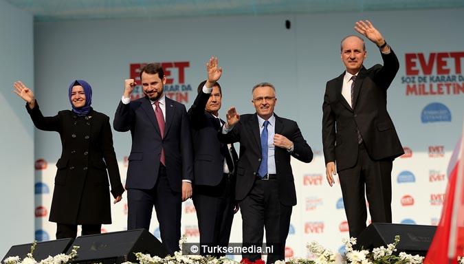 Miljoen Turken roepen 'ja' tijdens megacampagne Istanbul4