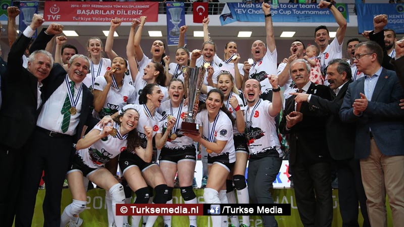 Turks volleybalteam beste van Europa