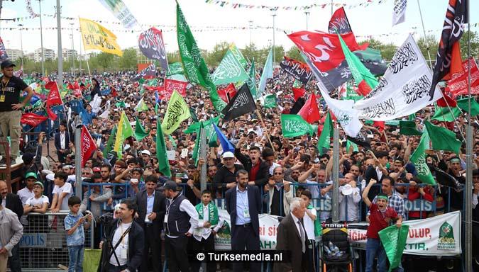 Turkse Koerden massaal bijeen voor herdenking profeet (exclusieve fotogalerij)10