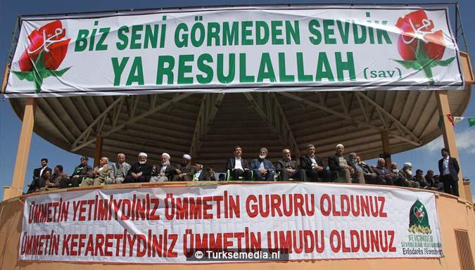 Turkse Koerden massaal bijeen voor herdenking profeet (exclusieve fotogalerij)101