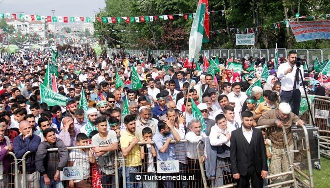 Turkse Koerden massaal bijeen voor herdenking profeet (exclusieve fotogalerij)103