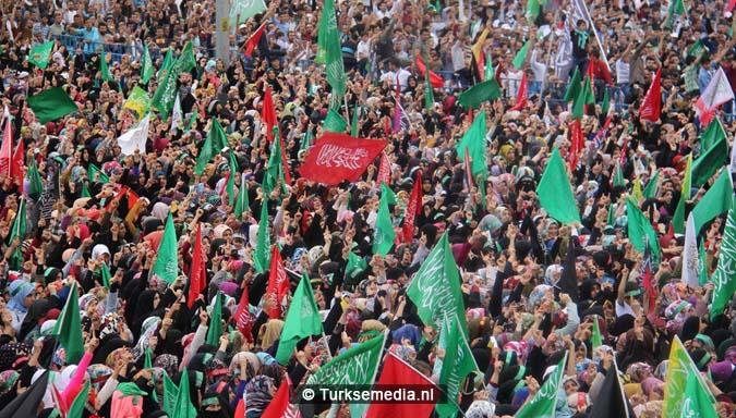 Turkse Koerden massaal bijeen voor herdenking profeet (exclusieve fotogalerij)11