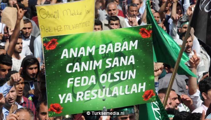 Turkse Koerden massaal bijeen voor herdenking profeet (exclusieve fotogalerij)13