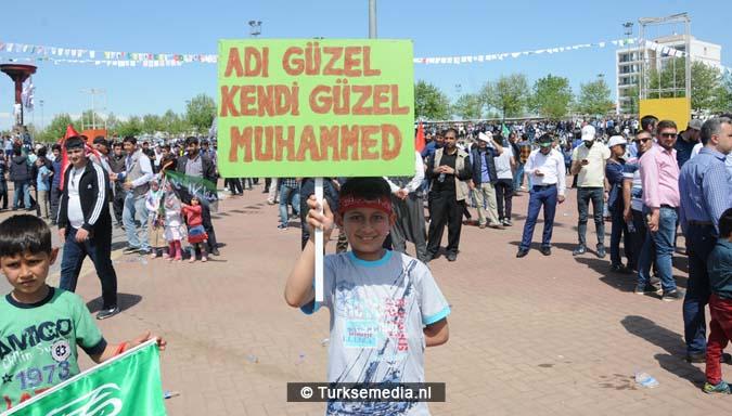 Turkse Koerden massaal bijeen voor herdenking profeet (exclusieve fotogalerij)15
