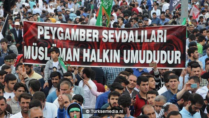 Turkse Koerden massaal bijeen voor herdenking profeet (exclusieve fotogalerij)16