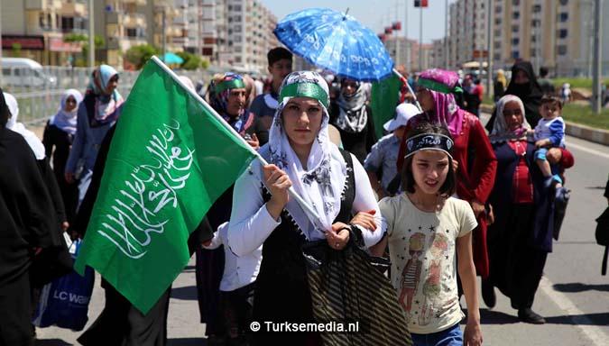 Turkse Koerden massaal bijeen voor herdenking profeet (exclusieve fotogalerij)4
