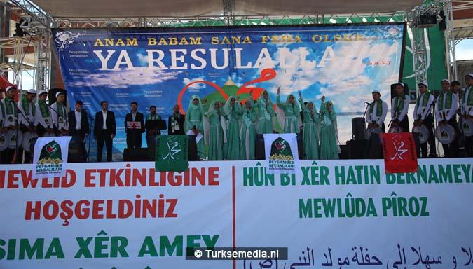 Turkse Koerden massaal bijeen voor herdenking profeet (exclusieve fotogalerij)7