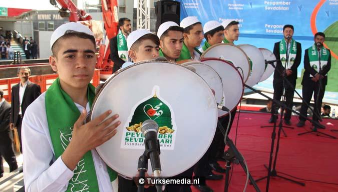 Turkse Koerden massaal bijeen voor herdenking profeet (exclusieve fotogalerij)8