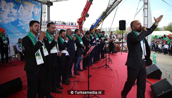 Turkse Koerden massaal bijeen voor herdenking profeet (exclusieve fotogalerij)9