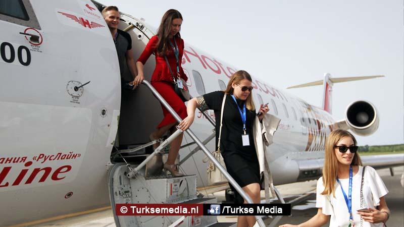 Deze Russen zijn binnen 40 minuten op vakantie in Turkije