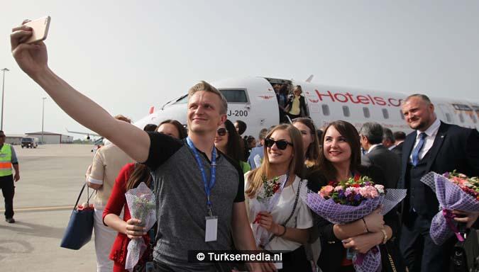 Deze Russen zijn binnen 40 minuten op vakantie in Turkije1