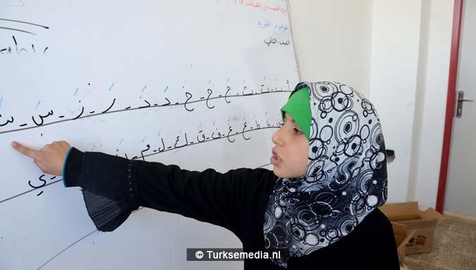 Deze Syriërs in Bab gaan dankzij Turkije weer naar school 'Bedankt'2