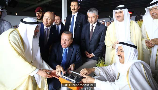 Dit bouwen Turken voor Koeweit1