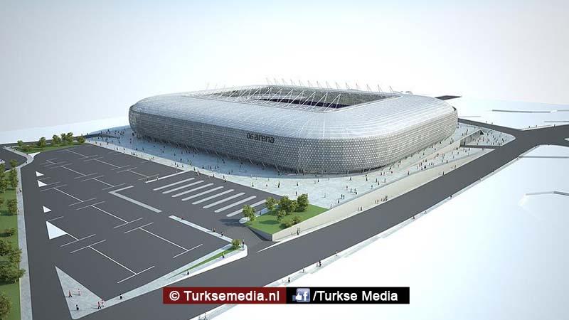 Dit is het nieuwe stadion van de Turkse hoofdstad dat heel snel af is