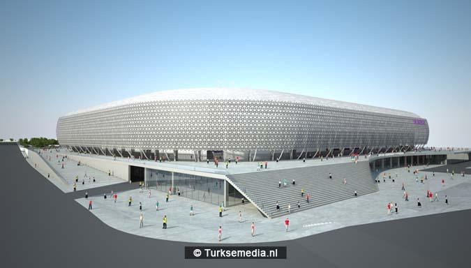 Dit is het nieuwe stadion van de Turkse hoofdstad dat heel snel af is1