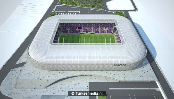 Dit is het nieuwe stadion van de Turkse hoofdstad dat heel snel af is2