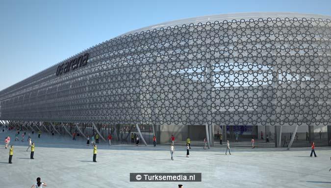 Dit is het nieuwe stadion van de Turkse hoofdstad dat heel snel af is4