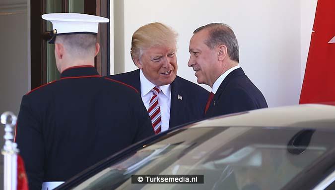 Erdogan tegen Trump Geen plaats voor terreurgroepen in onze regio2
