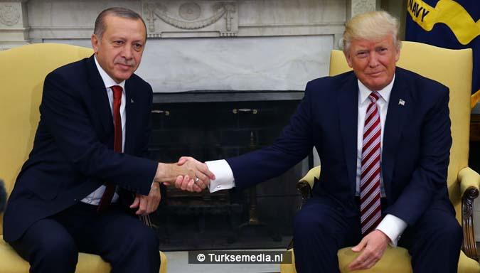 Erdogan tegen Trump Geen plaats voor terreurgroepen in onze regio3