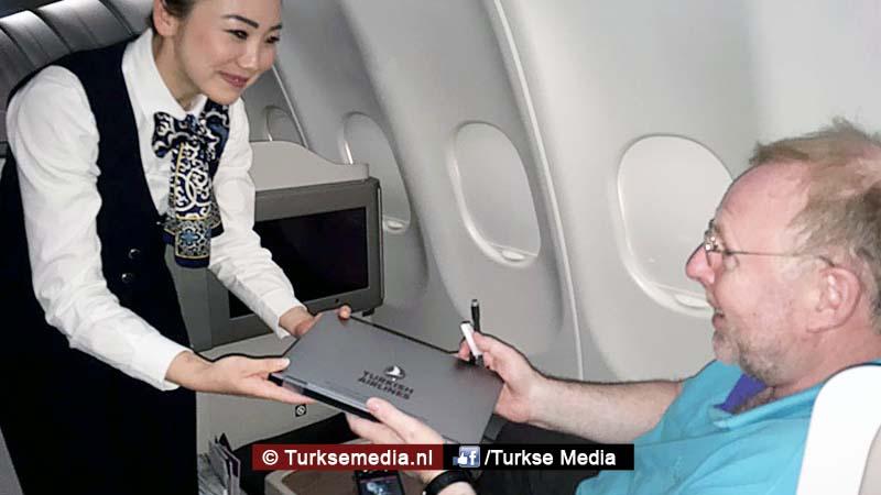 Laptopverbod houdt Turkish Airlines niet tegen