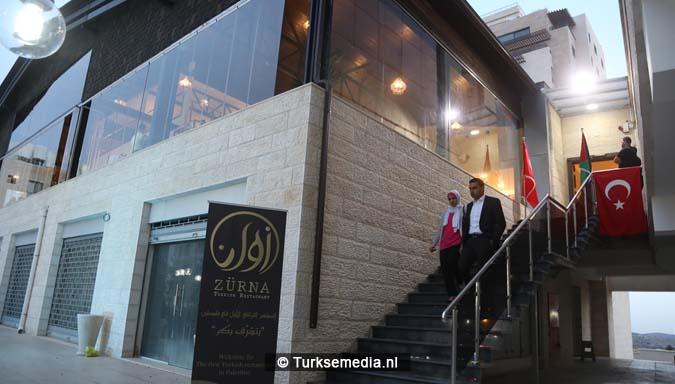 Palestina ziet eerste Turkse restaurant openen ondanks tegenwerking8