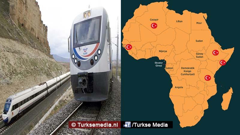 Turken bouwen spoorwegen van Afrika3