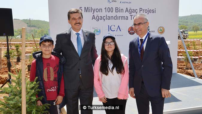 Turken planten 18,9 miljoen bomen in Istanbul; Turkije in top 3 3