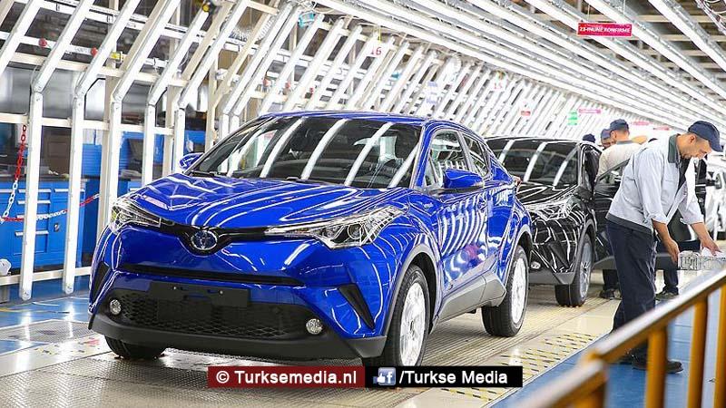 Turkije exporteert steeds meer auto's