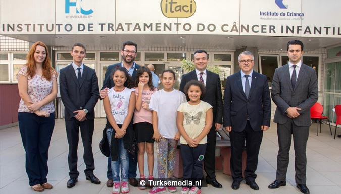 Turkije stuurt hulp naar Brazilië voor kinderen met kanker2