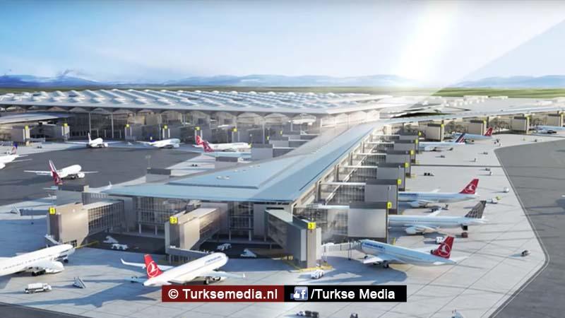 Turks megavliegveld voor meer dan de helft voltooid