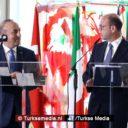 Turkse minister geeft Italiaanse journalist harde les in Rome