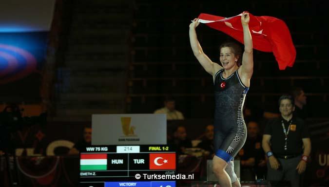 Tweede goud voor Turkije tijdens EK worstelen2