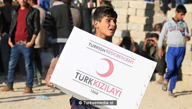 Gigantische hulp Turkije aan Syriërs in Syrië 40.000 vrachtwagens3