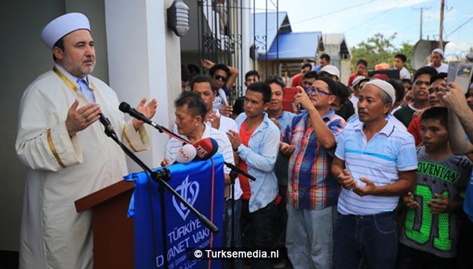 Turken doen Filipijnen moskee cadeau 'Offers Turkije grenzeloos'4