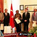 Somalische Nederlanders bedanken Turkije in Den Haag