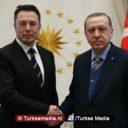 Erdogan ontvangt Tesla-baas Elon Musk