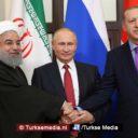 Turkije, Rusland en Iran bijeen voor oplossing in Syrië