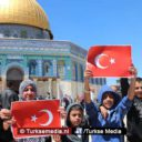 Palestina bedankt Turkije: 'Trots op jullie'