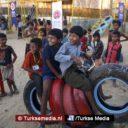 Turkije denkt ook aan kinderen van Rohingya: bouwt speeltuin in Bangladesh