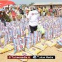 Turkije stuurt voedselhulp naar duizenden vluchtelingen in Kameroen