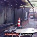 Brandstichting bij moskee in Drachten (Friesland)