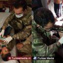 Turkse 'invasie' Afrin: zieke Syrische kinderen en vrouwen medisch behandeld