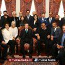 Turkse artiesten op verjaardagsbezoek bij Erdoğan