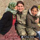 Volk Afrin dolblij met komst Turkse militairen, Koerden krijgen cadeaus
