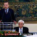Erdoğan boort 'dreigende' Griekse president compleet de grond in