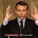 Erdoğan woedend op Macron na 'Franse steun aan terreurgroep'