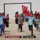 Groot feest in Afrin: kinderen dankzij Turkije weer naar school