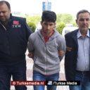 Turkse politie vindt man die tijdens 'Nawroz' in het buitenland Turkse vlag schoffeerde